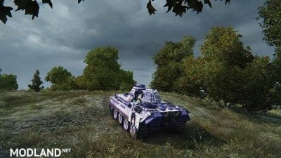 [BCSF] PzKpfw V Panther [LOVELY×CATION 2] - [Izumi Wakoto] 스킨 0.0 [1.5.0.4], 5 photo